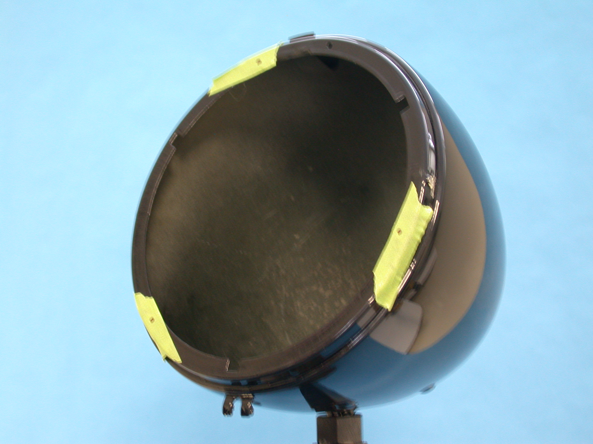 PLACE TAPE ON BUCKET FOR EASE OF MARKING
